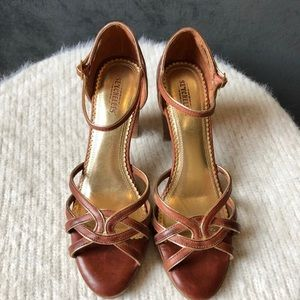 Seychelles Leather Strappy Heels